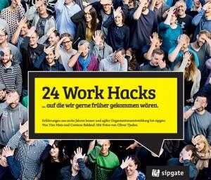"""Buchcover von """"24 Work Hacks"""""""